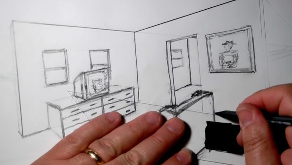 Sketching for Scenic Design