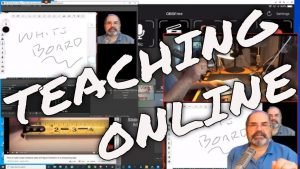 Teaching online with Zoom and OBS