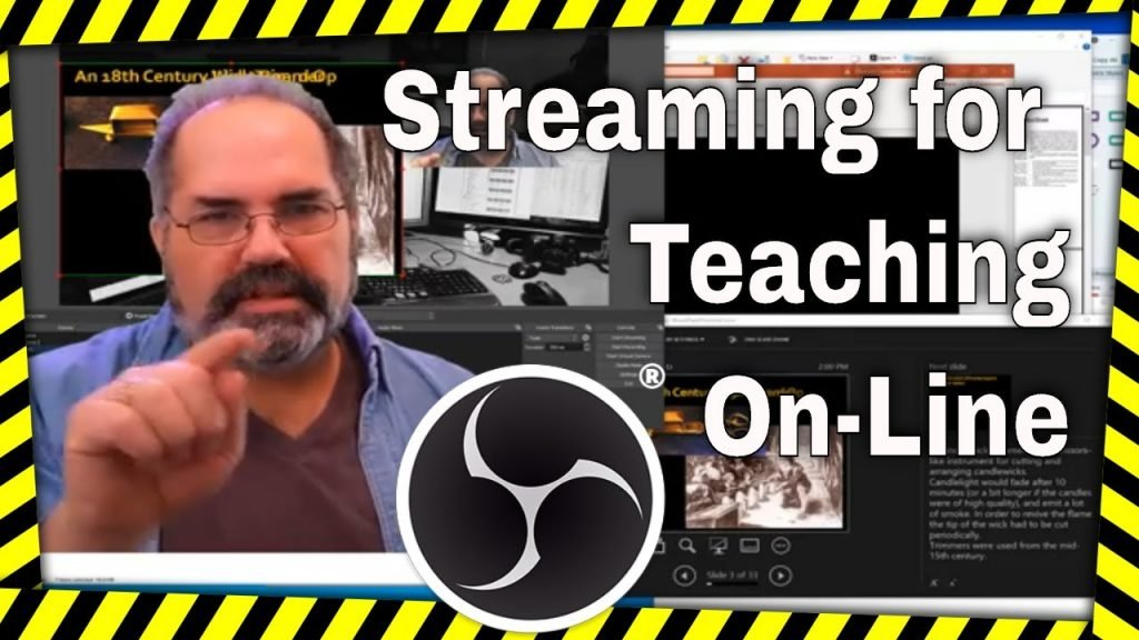 Setting up OBS for Teaching via Zoom and others